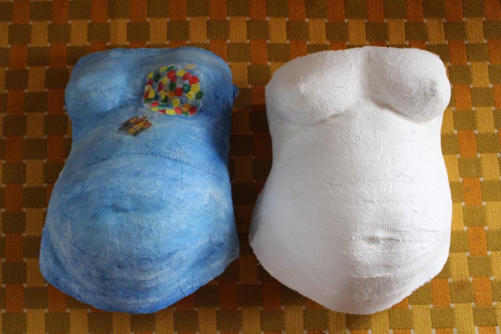 Gipsmave - Et smukt minde om babyhulen