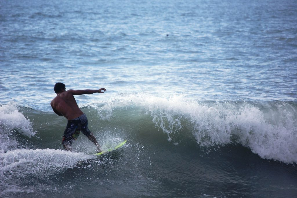 Prinsen på det grønne surfboard